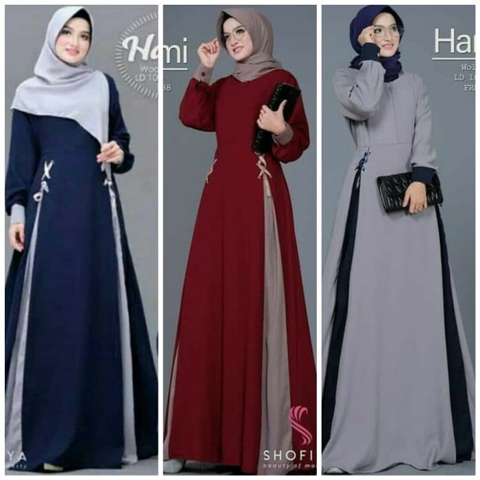 Foto Produk Pakaian Busana Muslim Baju Gamis Wanita Terbaru Dress Murah dari Zy's Distro