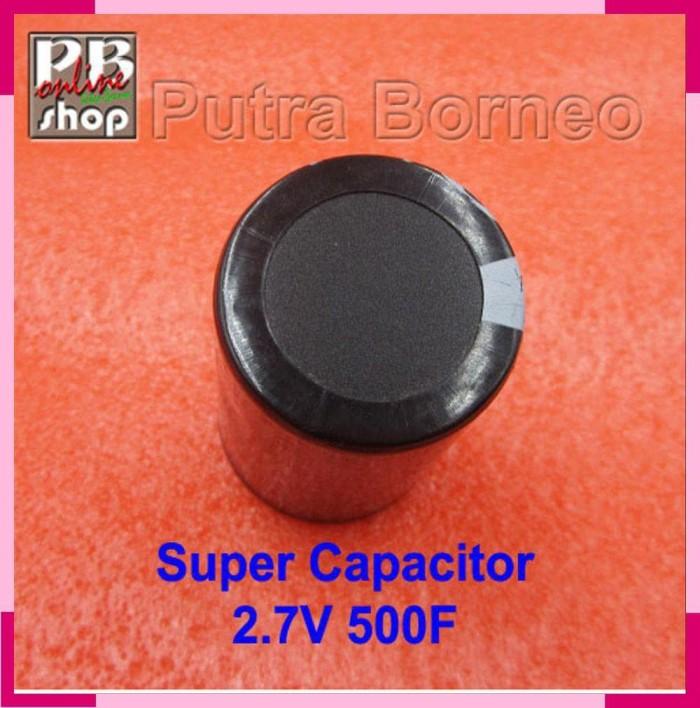 Jual Super Capacitor 500 Farad Super kapasitor Ultra Capacitor 500F 2 7V -  Jakarta Barat - aqila putri emblem | Tokopedia