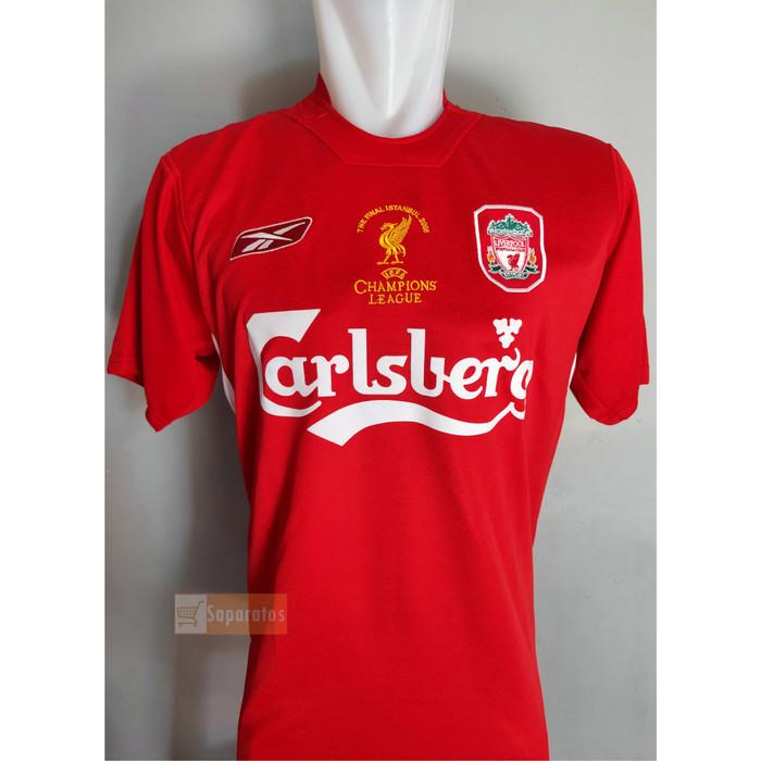 low cost 3a40d dc373 Jual Jersey Liverpool Champion League 2005 - Merah, M - Kota Tangerang  Selatan - Saparatos | Tokopedia