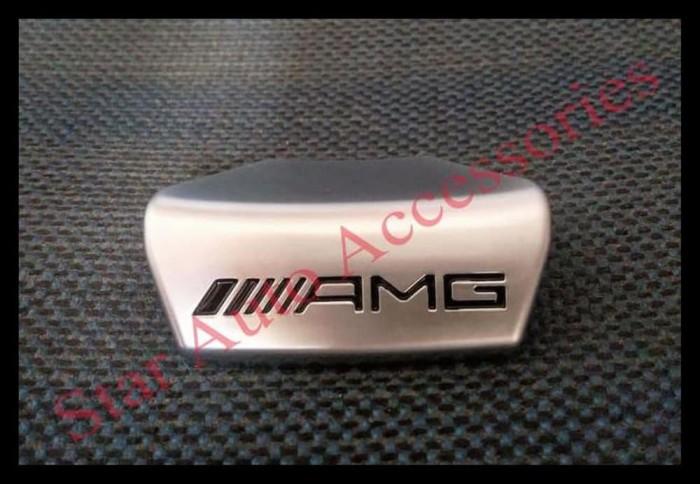 Foto Produk Banting Harga. Emblem Plat Stir Amg Mercedes Benz W205. W213. W222. dari freda elshop