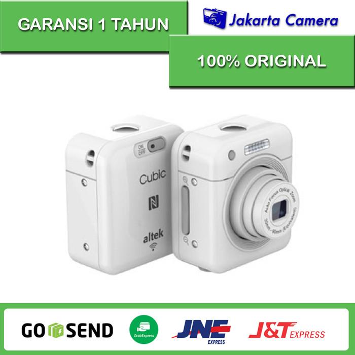 harga Altek cubic wireless kamera - 13 mp - white Tokopedia.com
