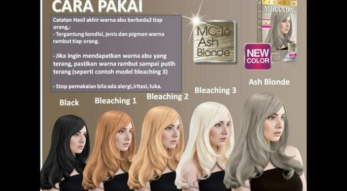 Jual Paling Baru Dan Termurah Miranda Mc 16 Ash Blonde 30ml Jakarta Barat Csunraise Tokopedia