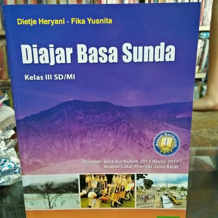 Jual Diajar Basa Sunda Kelas 3 Sd Kurikulum 2013 Yudhistira Jakarta Timur Tumbas Buku Tokopedia