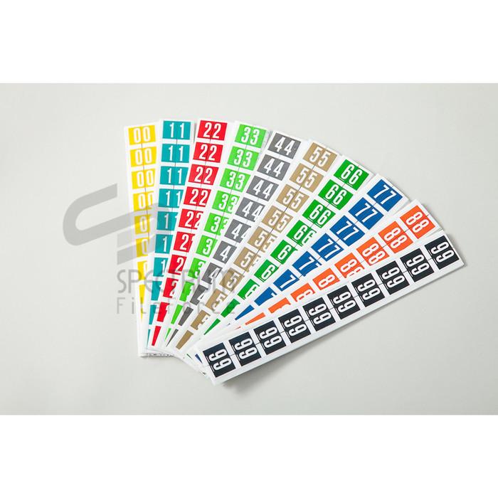 Foto Produk Spectrum Label Code Numeric (Label angka ) - 0 s/d 9 dari Spectrum FileForce