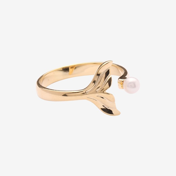 harga Whizliz pearline gold ring - kuning 14 Tokopedia.com