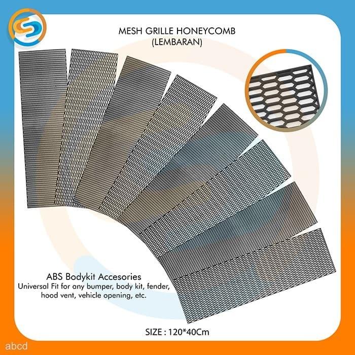Jual Car Grill Mesh Honeycomb - Mesh Grille Sheet - Grill Bumper abcd -  Jakarta Utara - Audio Net Shop   Tokopedia