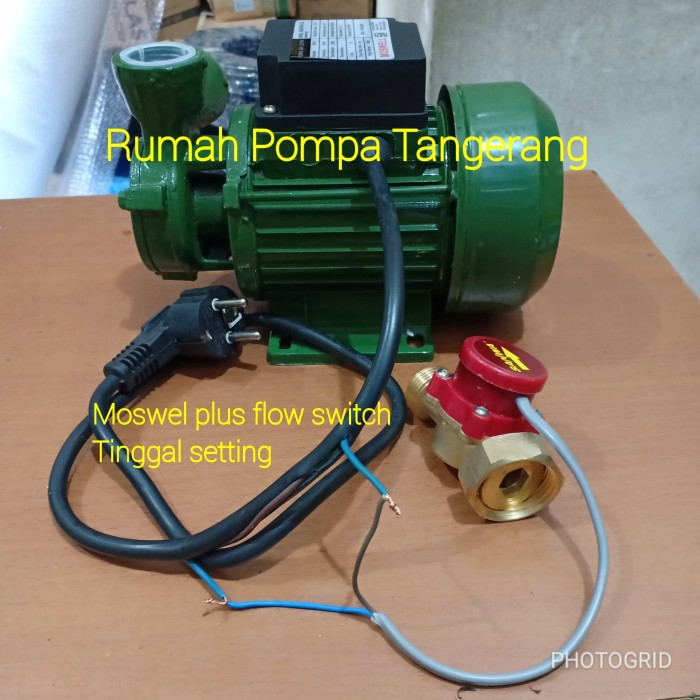 harga Pompa air moswell sni 125 plus otomatis pompa booster/flow switch. Tokopedia.com