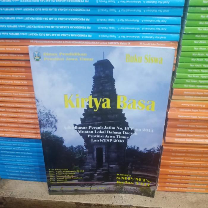 Buku Paket Bahasa Jawa Kirtya Basa Kelas 8 - Guru Galeri