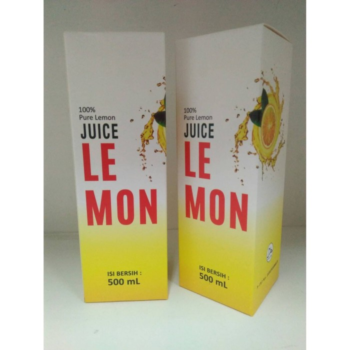 Foto Produk Juice Lemon Pure Lemon dari Garcia Online Shop