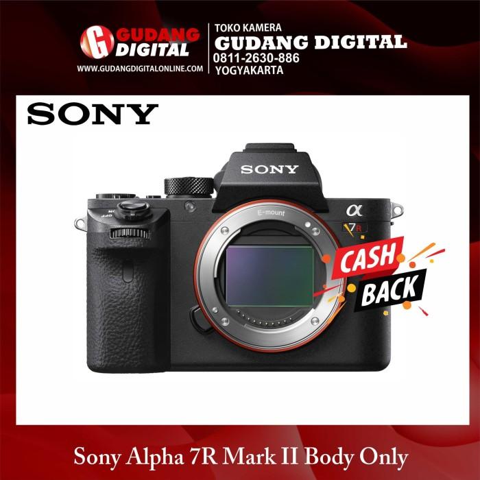 Kamera mirrorless sony alpha 7r mark ii body only