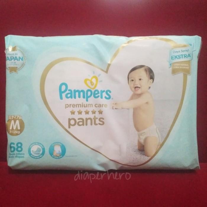 harga Pampers active baby premium pants m 68 / m68 Tokopedia.com