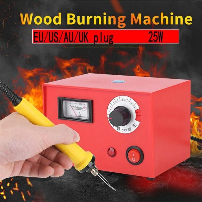 Jual Import 25w Wood Burning Kit Pen Pyrography Tool Set Craft Stencils Jakarta Selatan Gudang Perkakas Id Tokopedia