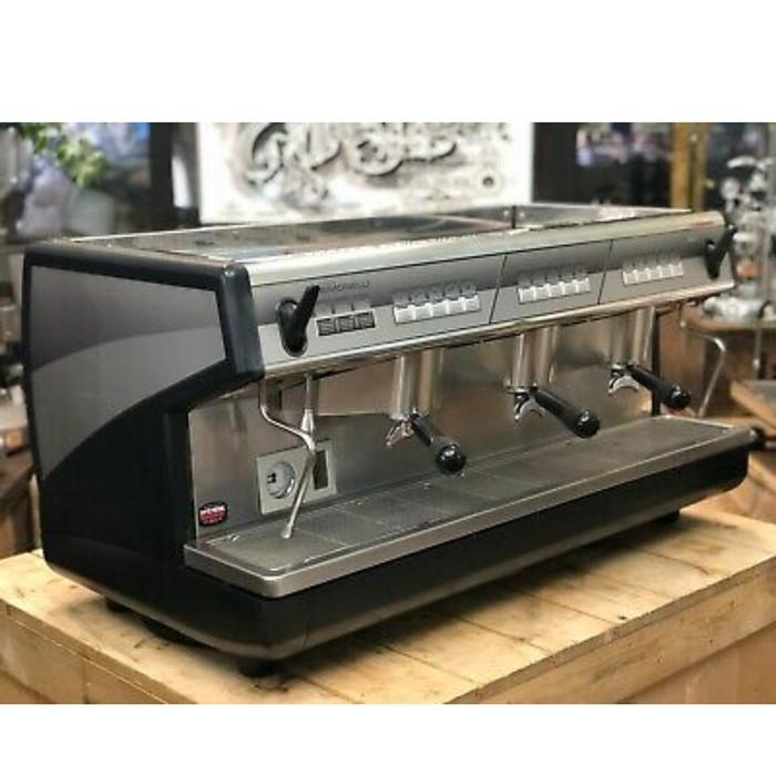 Jual NUOVA SIMONELLI APPIA 3 GROUP BLACK ESPRESSO COFFEE ...