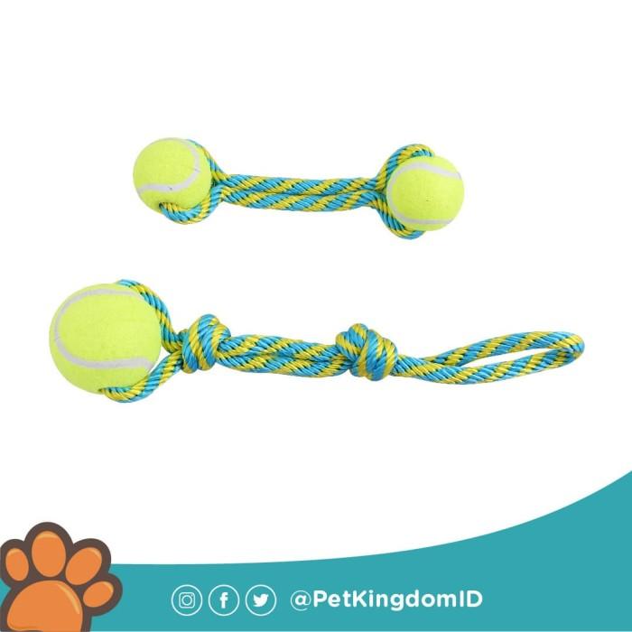 Foto Produk MAINAN ANJING TENNIS BOUNCER TOSS SMALL dari Pet Kingdom