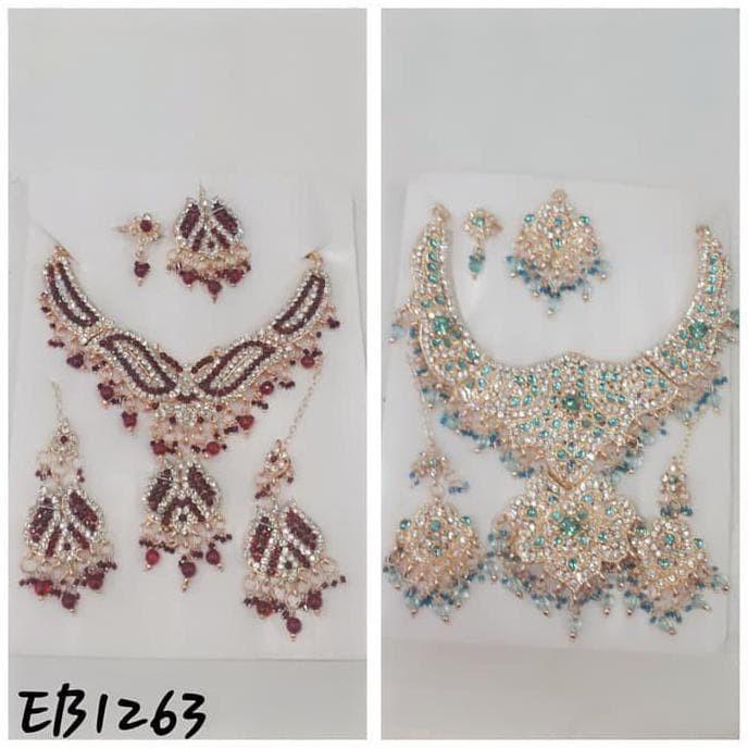 Foto Produk good quality kalung set india eb1263 / aksesoris wanita dari ardi'sstorshop