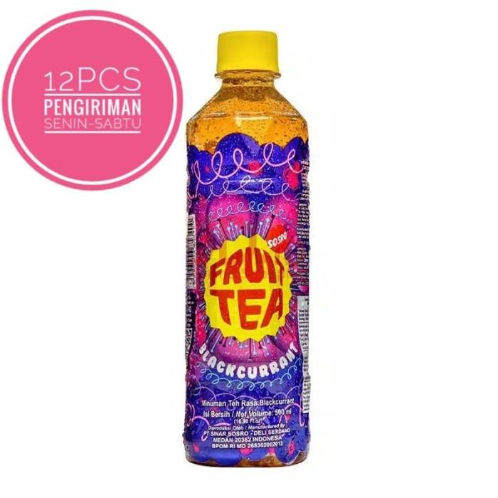 harga Fruit tea pet 500ml Tokopedia.com