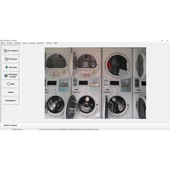 Foto Produk Software Laundry Commercial Untuk Layanan Laundry Hotel dari Bilbarkah Shop