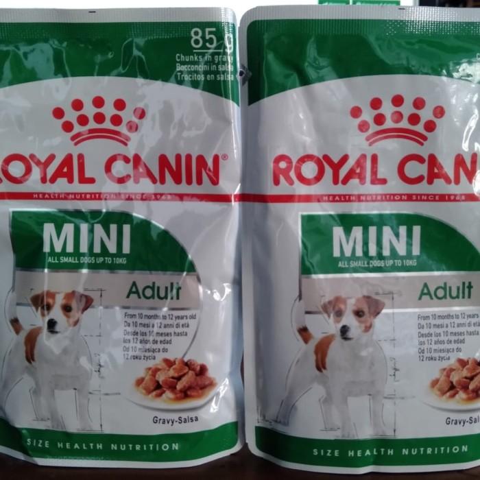Foto Produk Royal Canin Wet Mini Adult Pouch 85gr dari diazpetshop