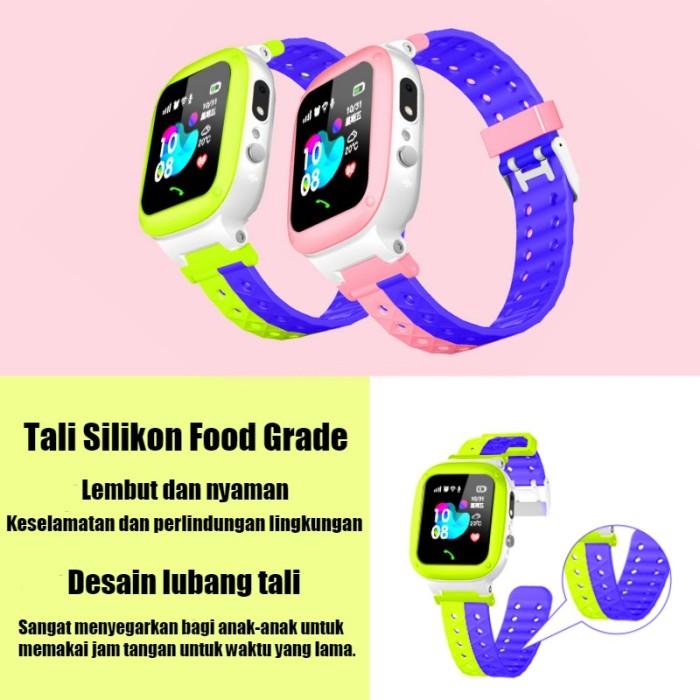 Jual Q18 Smartwatch Anak dengan Fungsi Telepon WiFi LBS Positioning IP67 Ta  - Jakarta Barat - Twentytwo Toserba | Tokopedia