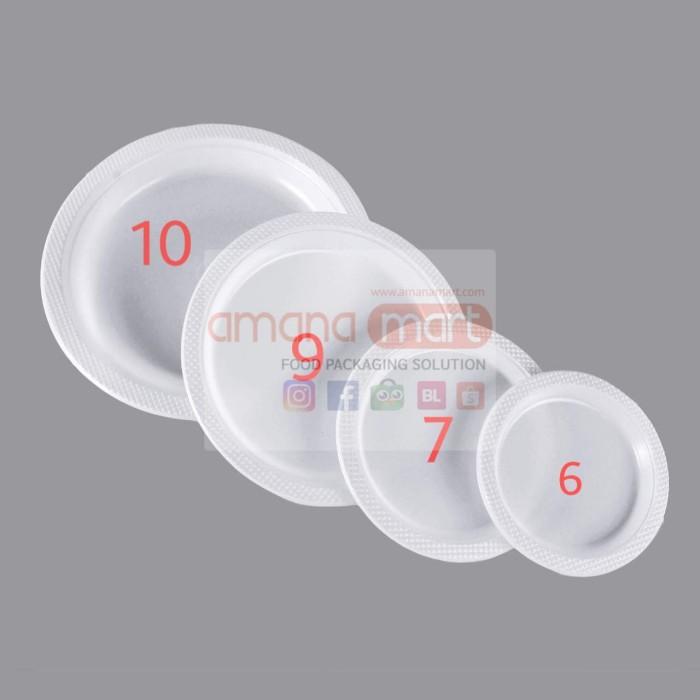 Foto Produk Piring Plastik 6 dari Amanamart