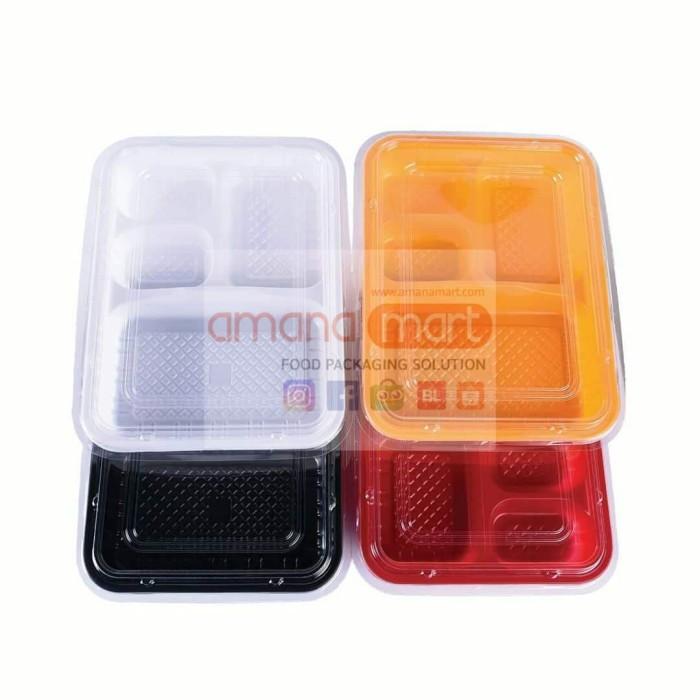 Foto Produk Kotak / Tray / Box Bento Plastik 224 dari Amanamart