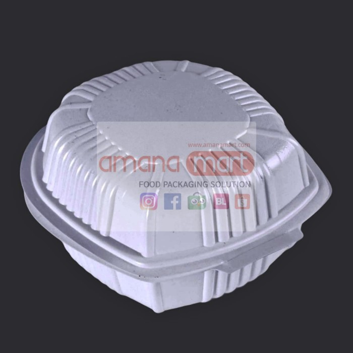 Foto Produk Tray Burger HIPS dari Amanamart