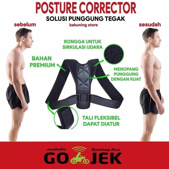 Foto Produk Penyangga Punggung Tulang Belakang - Posture Corrector Anti Bungkuk dari sudung