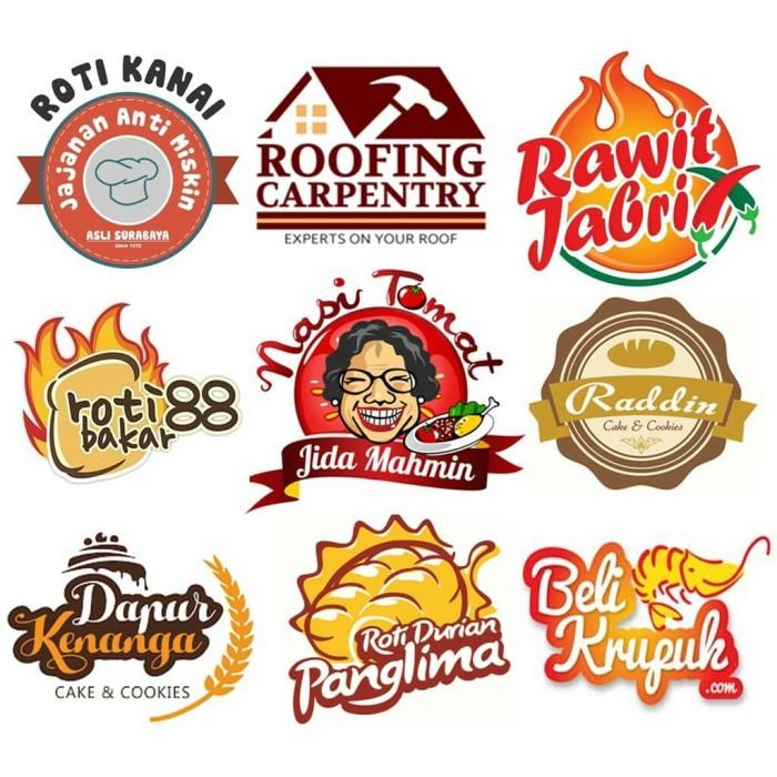 40+ Koleski Terbaik Contoh Stiker Olshop Makanan