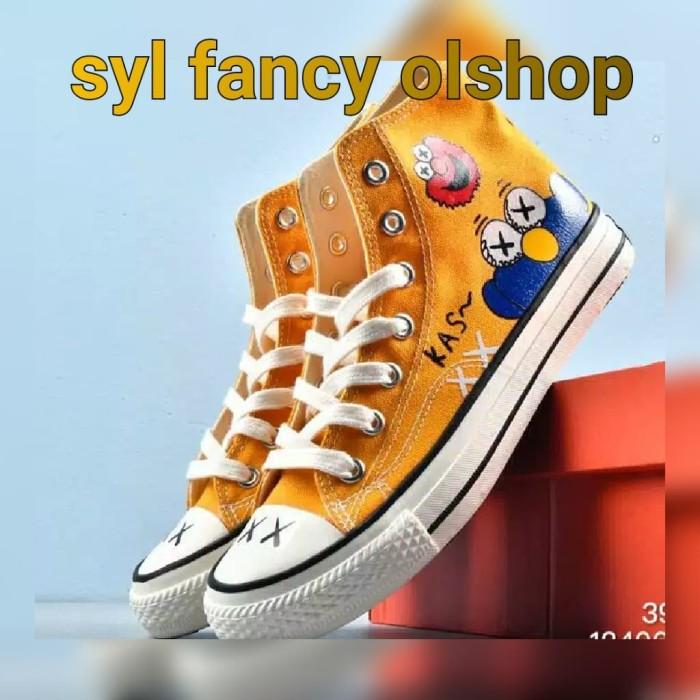 Jual Sepatu Converse High Elmo Frends Sesame Street Yellow 1970s