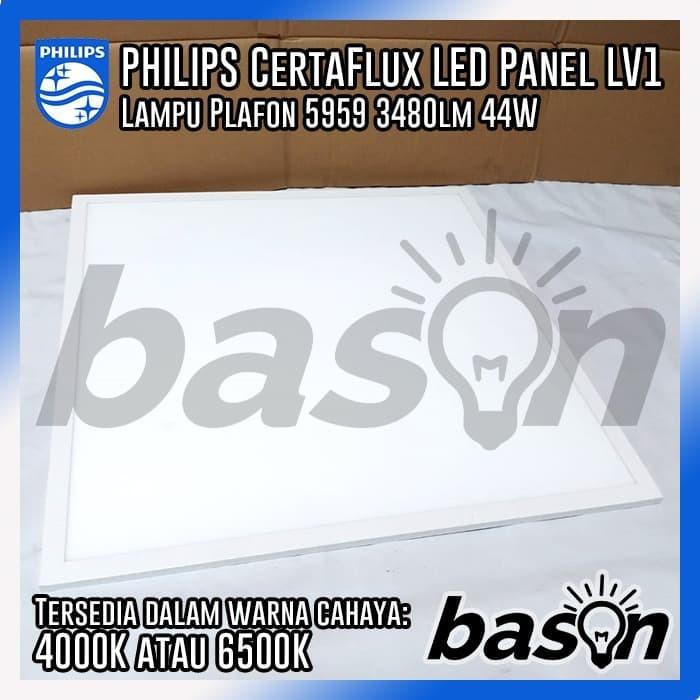 san francisco 61217 ce9f2 Jual PHILIPS CertaFlux LED Panel 5959 LV1 44W 3480lm - Cool Day Light - DKI  Jakarta - bason | Tokopedia