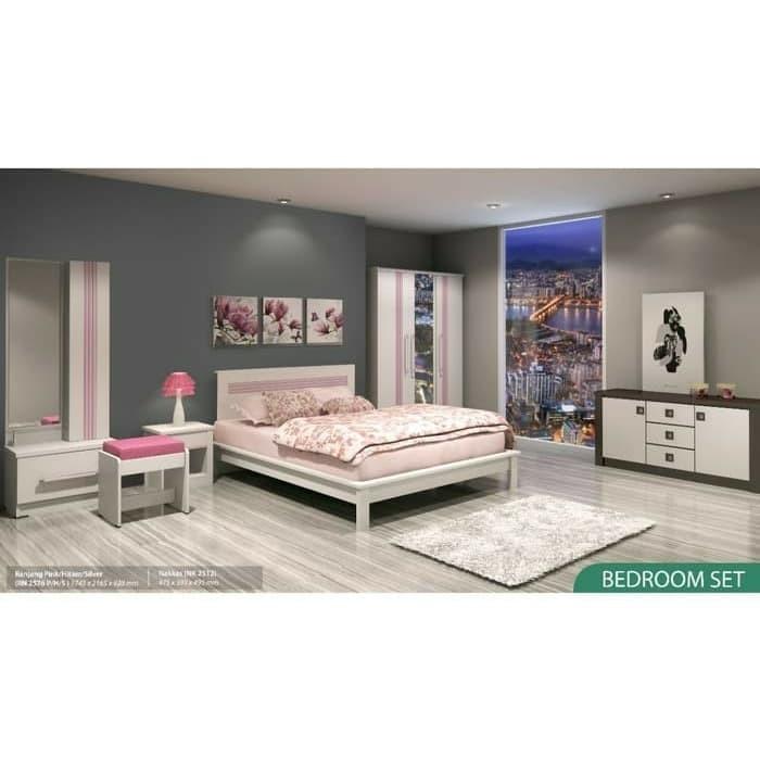 Jual Ranjang Double Bed Queen Size Bedroom Set Series Infinity Jakarta Barat Arafurnicure Tokopedia