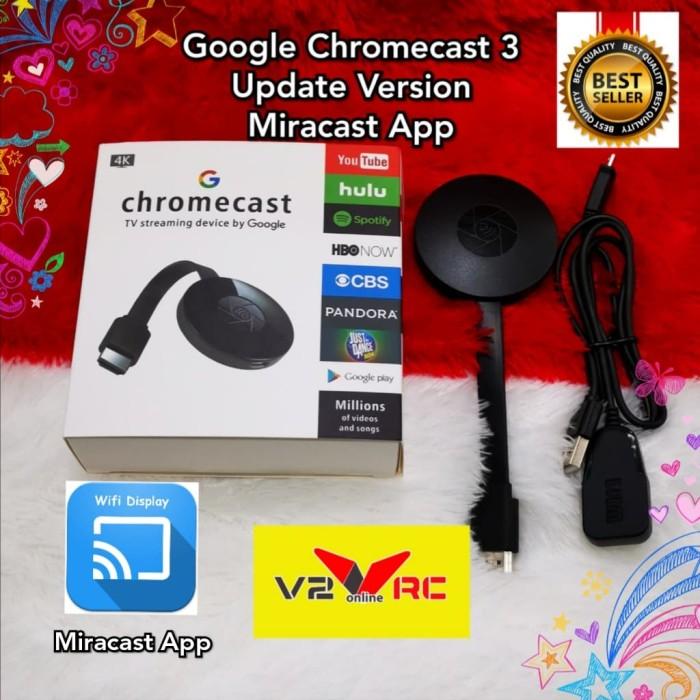 harga Google chromecast 2 tv streaming hd 1080p wifi wireless display Tokopedia.com