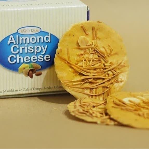 Foto Produk almond crispy cheese wisata rasa 100% ori best price - Mocca dari cozinaja