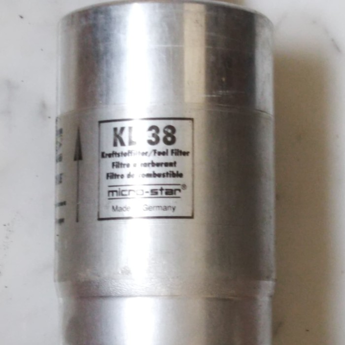 Mahle KL 38 Fuel Filter