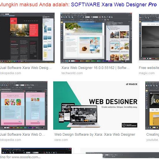 Jual Xara Web Designer Premium 2019 Kota Manado Soft Update 11082019 Tokopedia