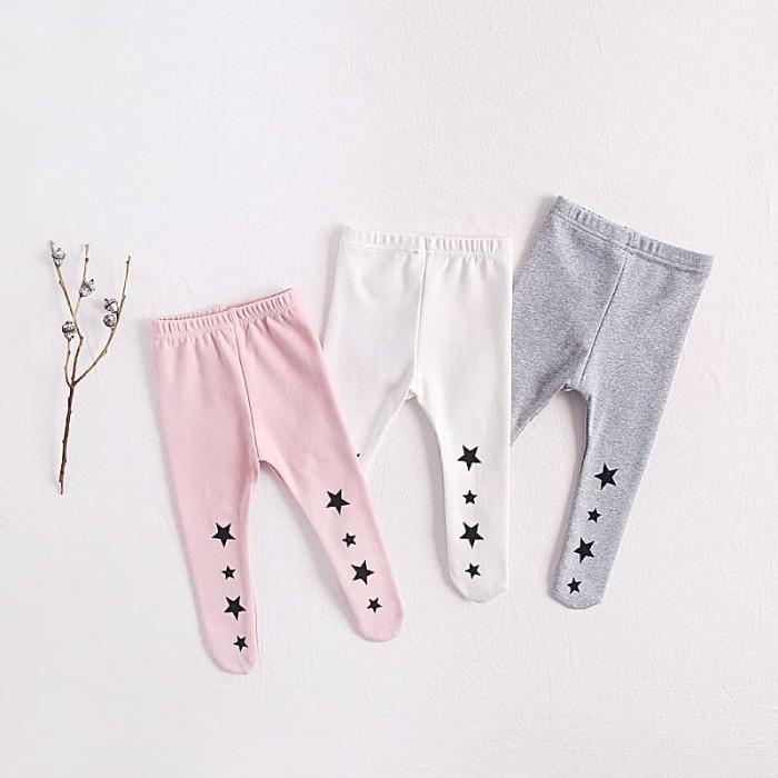 Jual Legging Bayi Newborn Celana Bayi Tutup Kaki New Born Baby Legging Star Pink 90 Jakarta Utara Baby Angeline Shop Tokopedia