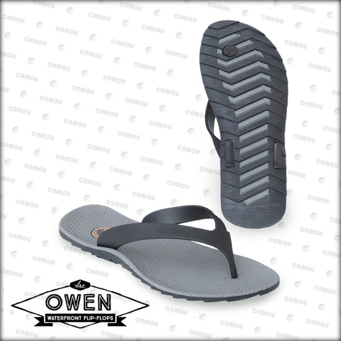 Foto Produk [Official] Sandal Camou Pria OWEN Titanium - Titanium, 39 dari Camou Sandal