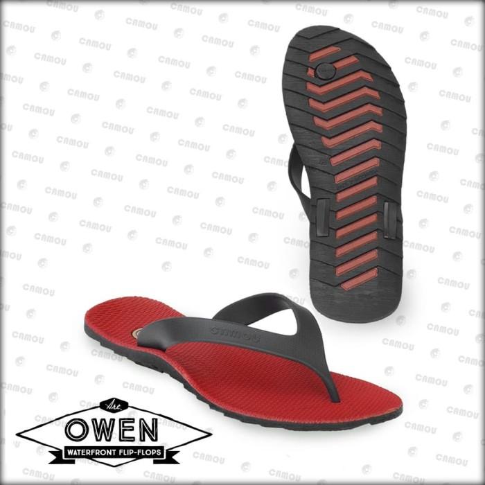 Foto Produk [Official] Sandal Camou Pria OWEN Crimson - Crimson, 39 dari Camou Sandal