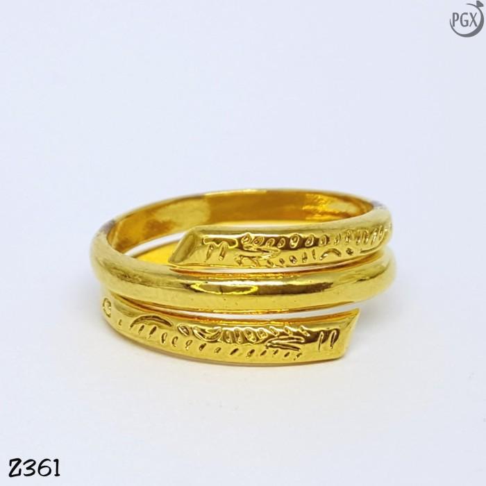 Cincin Xuping Asli Original Perhiasan Lapis Emas 24K ...