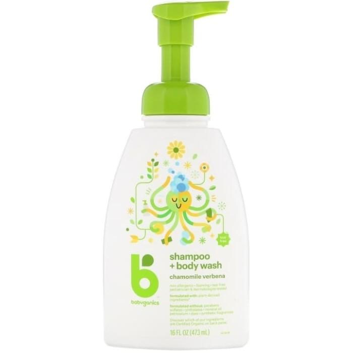 harga Babyganics shampoo and body wash 473ml chamomile verdena Tokopedia.com