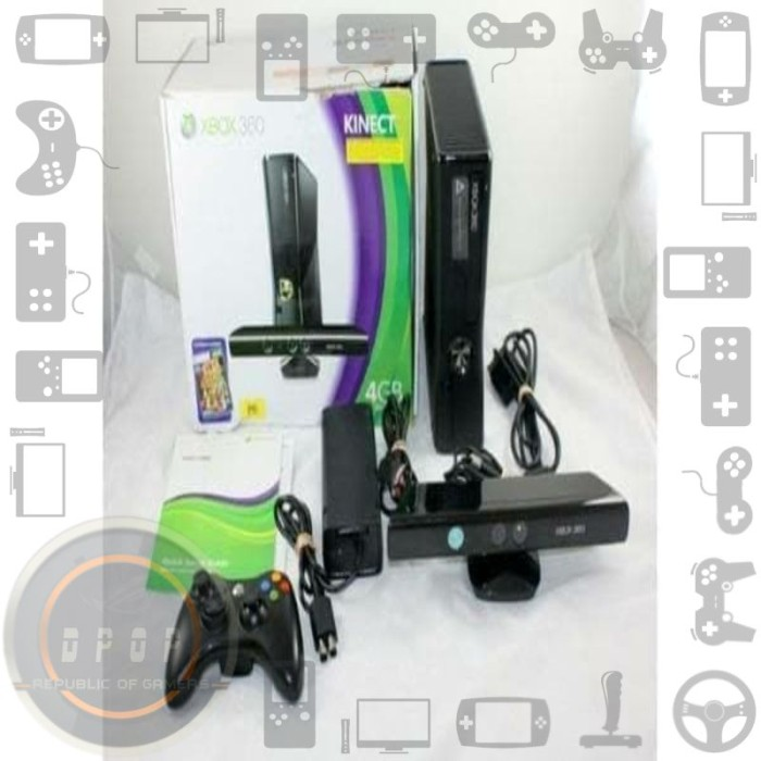 Foto Produk Xbox 360 Slim Kinect Hardisk 1 Terabyte dari dpopshop
