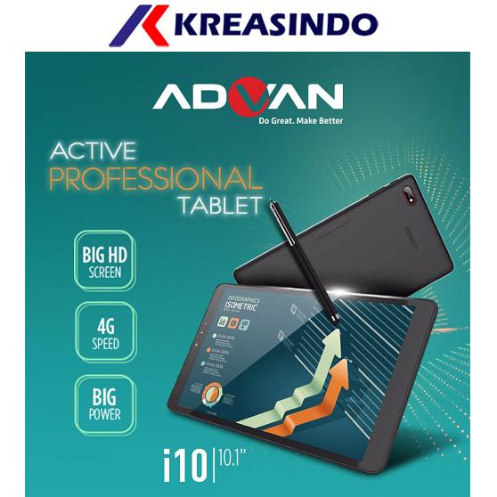 harga Advan tablet i10 10  inch - biru Tokopedia.com