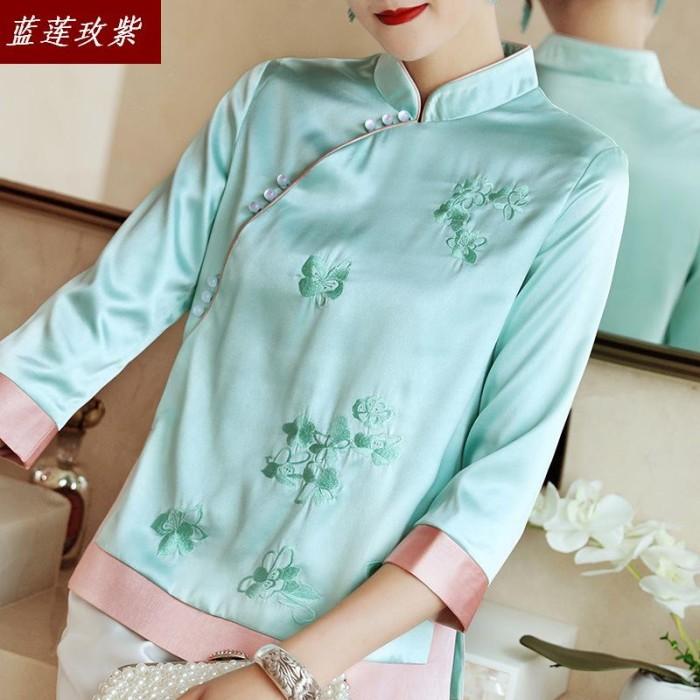 Jual Promo 2019 Women S Fashion Clothing Autumn Qipao Shirts