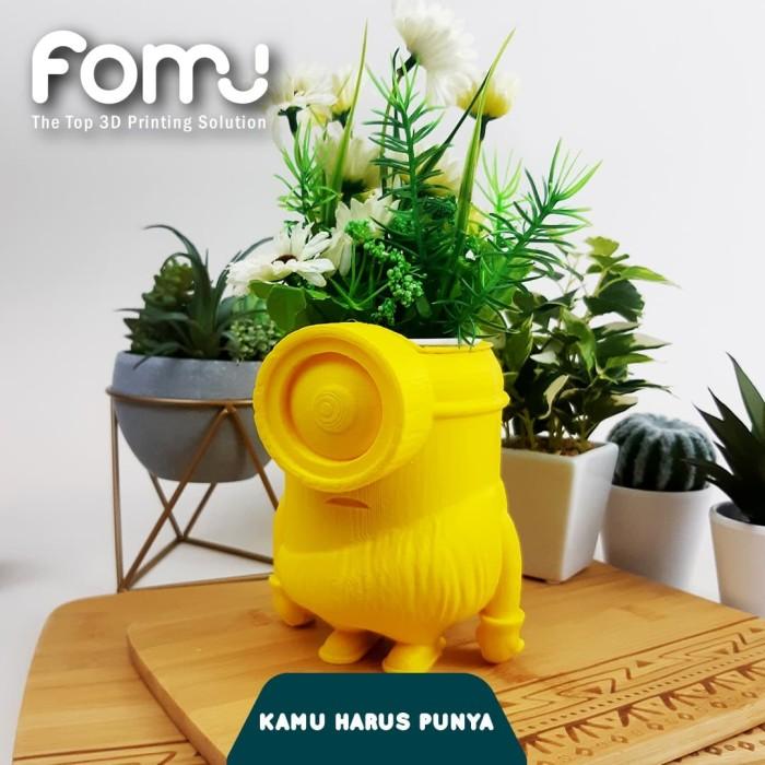 Foto Produk pot bunga minion dari fomu