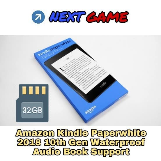 harga Amazon kindle paperwhite 10th gen ebook 2018 waterproof - 32gb - black Tokopedia.com