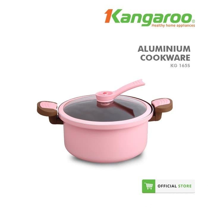 Casserol aluminium/ alat masak murah/ panci/ kangaroo kg165s
