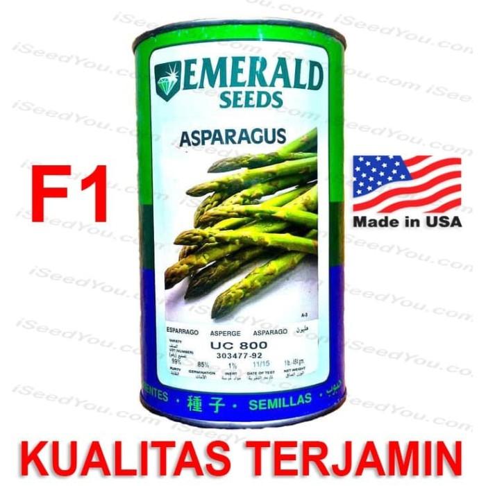 Foto Produk Biji Benih Eceran Asparagus F1 varietas UC800 dari Biji Benih