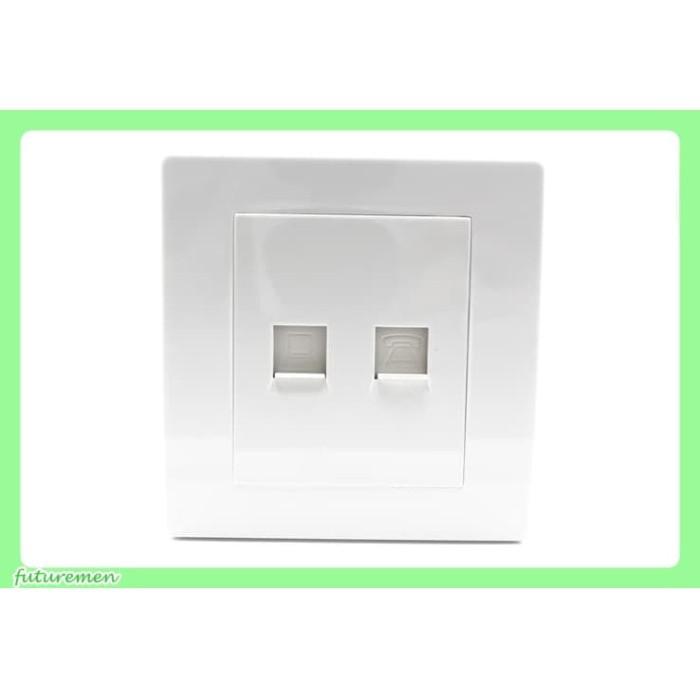 harga L1 - outlet telepon / telpon / telp rumah internet minimalist modern Tokopedia.com