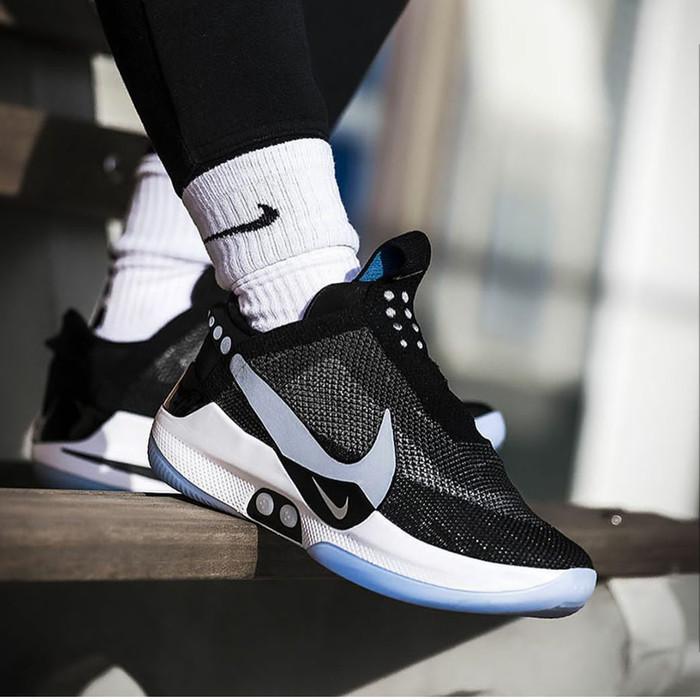 Jual Nike Adapt Bb Mag Black Grey Jakarta Barat Rgsneakercon14 Tokopedia