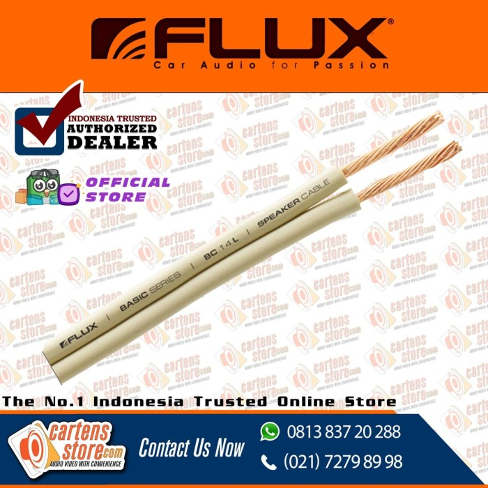 harga Kabel speaker flux fcs-2s classic series 14 awg by cartens store Tokopedia.com